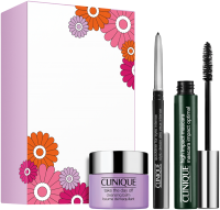 Clinique High Impact Favourites Set = High Impact Mascara 7 ml + Quickliner Intense 14 g + Cleansing Balm 15 ml