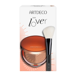 Artdeco Bronzing Powder Set = Bronzing Compact Powder 10 g + Blusher Brush
