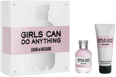 Zadig & Voltaire Girls can do Anything Set = E.d.P. Nat. Spray 50 ml + Body Lotion 100 ml