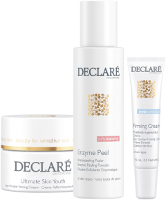 Declaré Age Control Set 7 = Ultimate Skin Youth 50 ml + Enzyme Peeling 50 g + Straffende Augenkontur Creme 15 ml