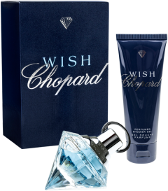 Chopard Wish Set = E.d.P. Nat. Spray 30 ml + Shower Gel 75 ml