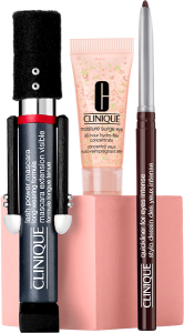 Clinique Lash Power Mascara Set = Lash Power Mascara 6 ml + Moisture Surge Eye 96-Hour Hydro-Filler Concentrate 5 ml + Quickliner for Eyes Intense 0,14 g