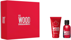 Dsquared2 Perfumes Red Wood Set =  E.d.T. Nat. Spray 30 ml + Body Lotion 50 ml