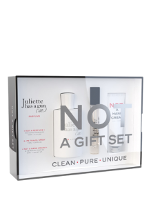 Juliette has a Gun Not a Gift Set = Not a Perfume 100 ml + Travelspray 7,5 ml + Hand Cream 30 ml