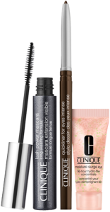 Clinique Power Lashes Set = Lash Power Mascara 6ml Bl.Onyx + Moisture Surge Eye 96H hydro-filler concentrate 5ml + Quickliner Eyes Intense 0,14g Int. Chocolate