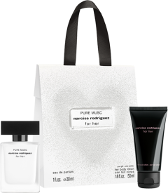 Narciso Rodriguez For Her Pure Musc Set = E.d.P. Nat. Spray 30ml + Body Lotion 50ml