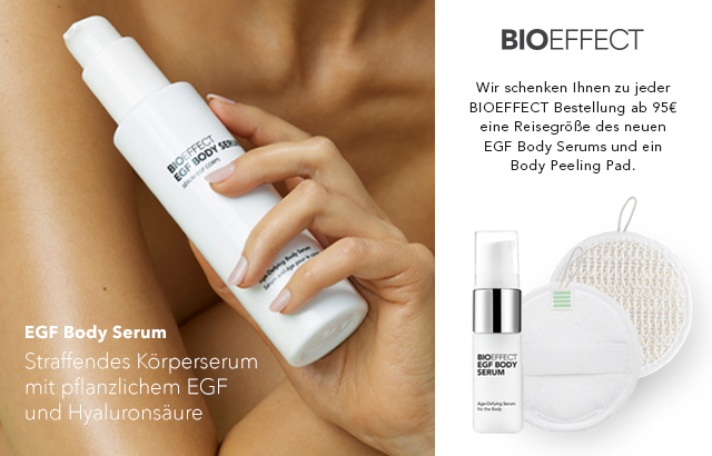 Bioeffect EGF Body Serum jetzt entdecken & Geschenk sichern!