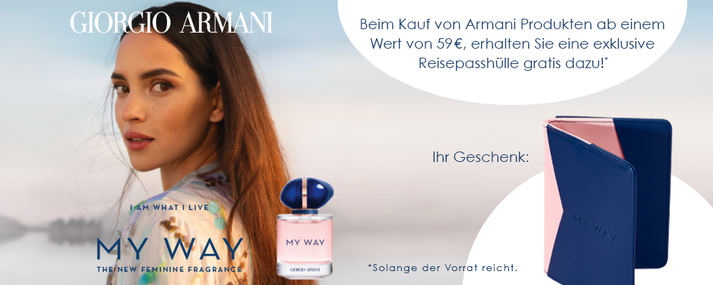 Armani My Way - jetzt entdecken!
