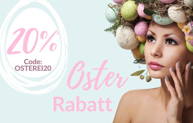 20% Osterrabatt - jetzt sichern!