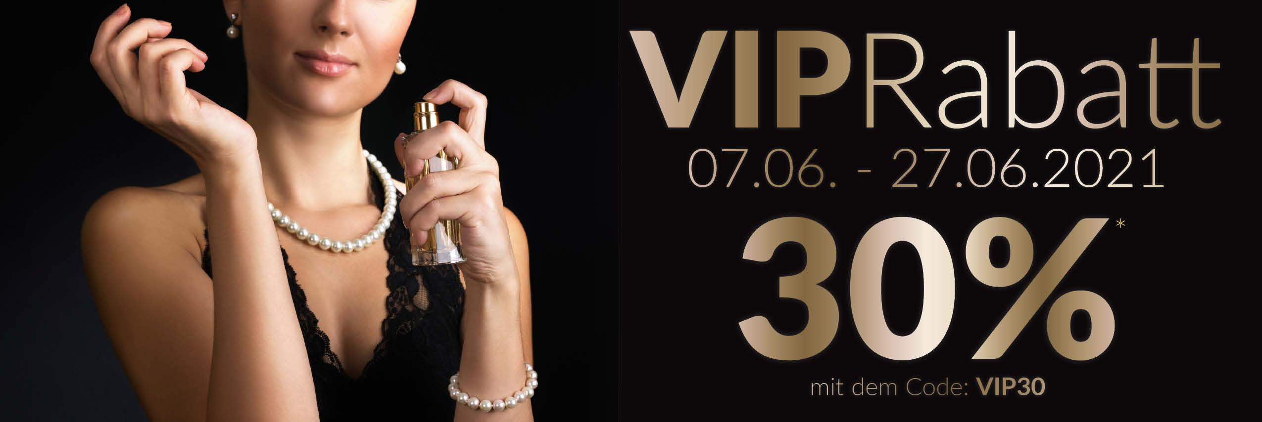 30% VIP Rabatt - jetzt sichern!