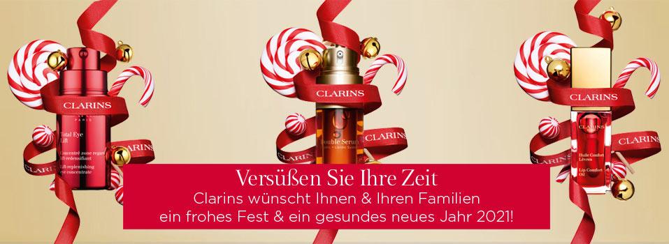 Weihnachten mit Clarins - jetzt entdecken